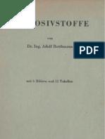 Explosivstoffe - Adolf Berthamm