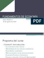Fundamentos de Economía 1