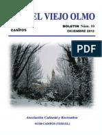 Asociación El Viejo Olmo. Revista  2012