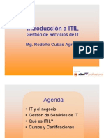 ITil v3 Business IT- ITIL