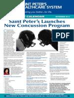 Saint Peter's Launches New Concussion Program