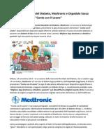 Giornata Mondiale Del Diabete Medtronic e Ospedale Sacco Insieme Con La App Conta Con Il Leone