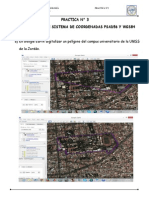 DIFERENCIA ENTRE SISTEMA DE COORDENADAS PSAD56 Y WGS84
