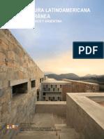 Arquitectura Latinoamericana Contemporanea