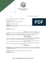 111 Solicitar El D.E. Tenga a Bien Considerar La Instalación de Una Rotonda Semi Circular en La Intersección de La Avenida Libertador y Paraná, Sentido Este.