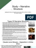 Case Study – Narrative Structure