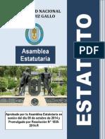 NUEVO ESTATUTO DE LA LEY UNIVERSITARIA 2014 - UNPRG