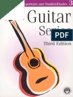 Partituras Violao Guitar Series Vol 3