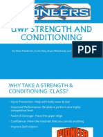 strength and conditioning hp project