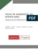 Villas de Emergencia en Buenos Aires
