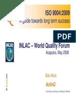ISO 9004 2009 Una Guia Dirigida Al Exito de Largo Plazo