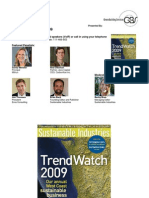 Trends to Watch 2009
