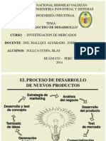 Proceso de Desarproceso de desarrrollo de nuevos productosrollo
