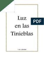 VM Lakhsmi . Luz en Las Tinieblas