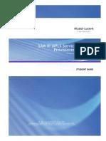 SAM IP-MPLS Service Provisioning