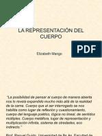 La Representacion Del Cuerpo. Prof. Elizabeth Mango