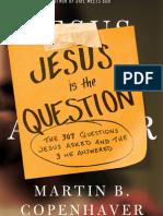 Jesus Is The Question Tweetable Excerpt
