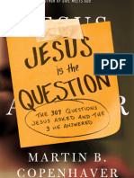 Jesus Is The Question Tweetable Excerpt