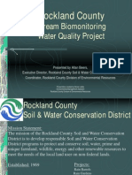 Rockland County stream biomonitoring project