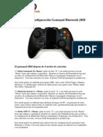 Manual Game Pad Bluetooth Jrh