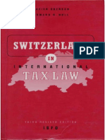Switzerland en International TAX LAW
