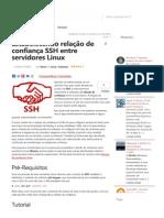 Confirança Entre Servidores Linux
