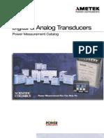Transducer Catalog