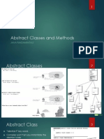 Abstract Classes Methods