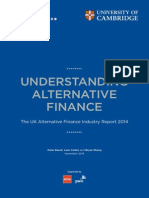 Understanding Alternative Finance 2014