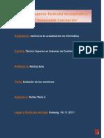 Monografia Sobre La Evolución de Los Monitores