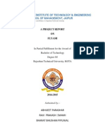 A Project Report on Flyash
