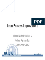 Lean Process Improvement Slides