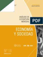 ECONOMIA Y SOCIEDAD - N 18 - MARZO 2014 - PARAGUAY - PORTALGUARANI