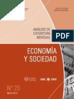 ECONOMIA Y SOCIEDAD - N 20 - MAYO 2014 - PARAGUAY - PORTALGUARANI
