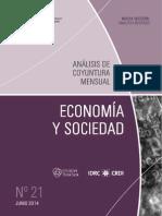ECONOMIA Y SOCIEDAD - N 21 - JUNIO 2014 - PARAGUAY - PORTALGUARANI