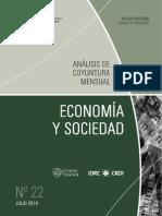 ECONOMIA Y SOCIEDAD - N 22 - JULIO 2014 - PARAGUAY - PORTALGUARANI