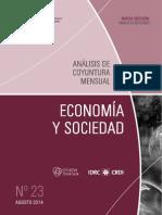 ECONOMIA Y SOCIEDAD - N 23 - AGOSTO 2014 - PARAGUAY - PORTALGUARANI