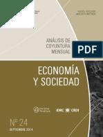 ECONOMIA Y SOCIEDAD - N 24 - SETIEMBRE 2014 - PARAGUAY - PORTALGUARANI