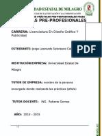 Practicas Pre Prof. - Dar Al Estudiante 2014 - Regatto-1