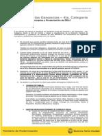 Com UCCOP N° 565 - Impuesto a las Ganancias -  2014