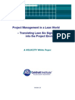 Pm in Lean World