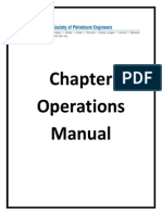 Chapter Operations Manual