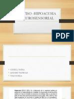 GATISO -HIPOACUSIA NEUROSENSORIAL