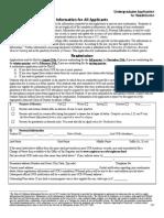 Readmission Application