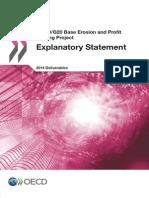 Beps 2014 Deliverables Explanatory Statement