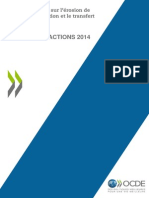 Beps Expose Des Actions 2014