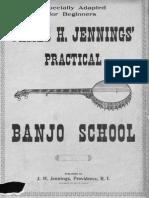 Jennings Banjo School 1902