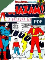SHAZAM Super-Herois 1 1973