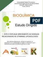 Bioquímica slides