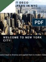 Mark Cohen - Top 5 Art Deco Skyscrapes in NYC